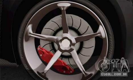 Zenvo ST1 v1.2 Final HD para GTA San Andreas traseira esquerda vista