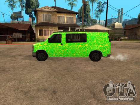 Bravado Paradise para GTA San Andreas esquerda vista