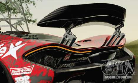 McLaren P1 HQ para as rodas de GTA San Andreas