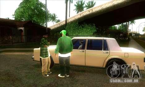 Situação de vida v3.0 para GTA San Andreas segunda tela