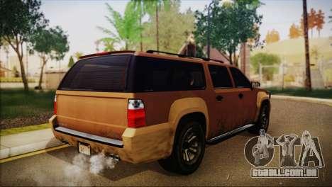 GTA 5 Granger para GTA San Andreas esquerda vista