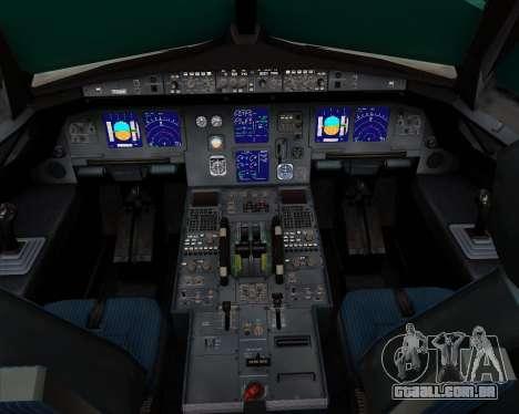 Airbus A321-200 Ural Airlines para GTA San Andreas interior