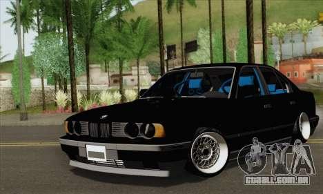 BMW 535 JDM Bosnia para GTA San Andreas