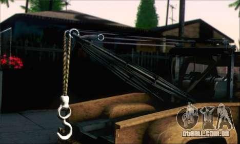 GTA 5 Towtruck Worn para GTA San Andreas traseira esquerda vista