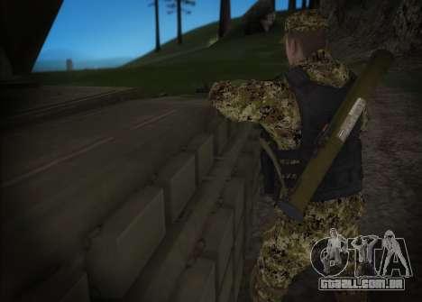 Setas milícia DND para GTA San Andreas segunda tela