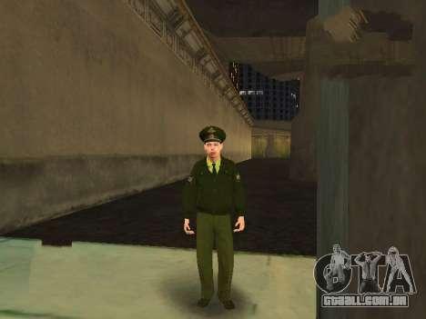 O Tenente Sokolov para GTA San Andreas por diante tela