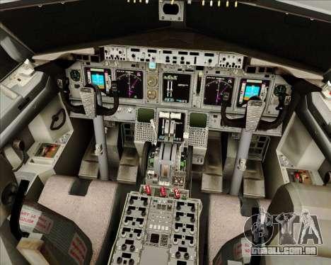 O Boeing 737-800 da Gol Transportes Aéreos para GTA San Andreas interior