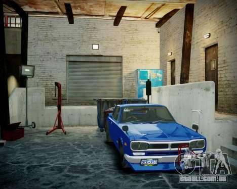 Garagem com novo interior Alcalinas para GTA 4 sexto tela