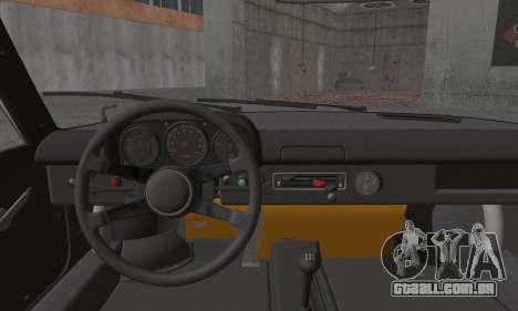 Porsche 914 para GTA San Andreas traseira esquerda vista