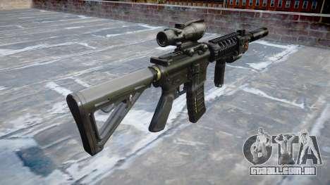 Máquina Tático M4A1 CQB para GTA 4 segundo screenshot