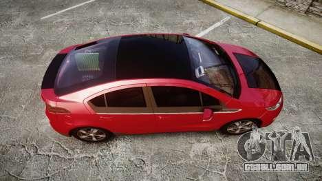 Chevrolet Volt 2011 v1.01 rims1 para GTA 4 vista direita