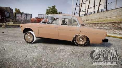 VAZ-2106 hooligan Azerbaijani velho estilo para GTA 4 esquerda vista