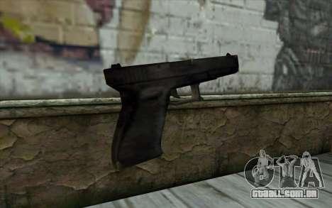 Glock from Beta Version para GTA San Andreas segunda tela