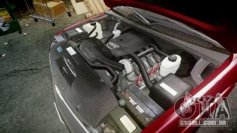 Chevrolet Suburban Undercover 2003 Black Rims para GTA 4 vista interior