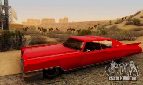 Cadillac Stella II para GTA San Andreas vista direita