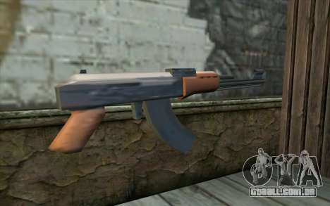 AK47 from Beta Version para GTA San Andreas segunda tela