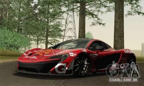 McLaren P1 HQ para o motor de GTA San Andreas