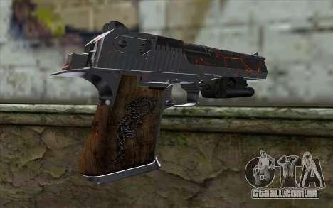 Silver Desert Eagle para GTA San Andreas segunda tela
