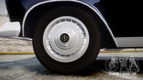 FSO Warszawa Ghia 1959 para GTA 4 vista de volta