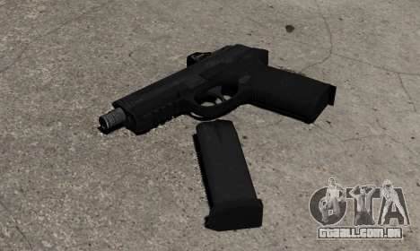 Arma FNP-45 para GTA 4 segundo screenshot