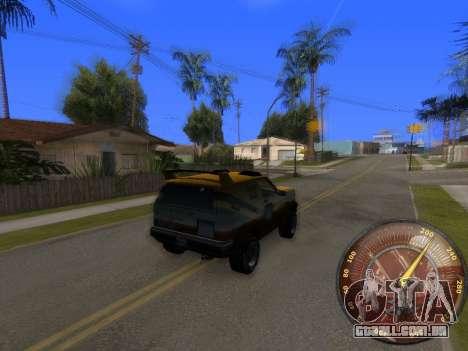 Velocímetro HITMAN para GTA San Andreas segunda tela