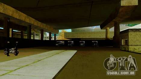 O renascimento de todas as delegacias de polícia para GTA San Andreas segunda tela