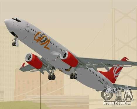 O Boeing 737-800 da Gol Transportes Aéreos para GTA San Andreas