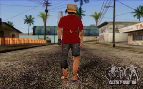 Vagabonds Skin 2 para GTA San Andreas segunda tela