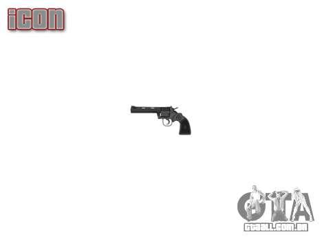 Um Revólver Colt Python .357 Elite para GTA 4 terceira tela