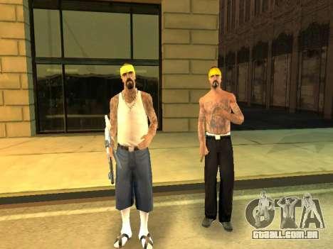 Áreas de troca de gangues e armas para GTA San Andreas sexta tela