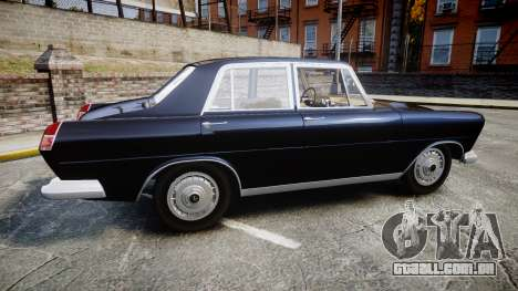 FSO Warszawa Ghia 1959 para GTA 4 esquerda vista