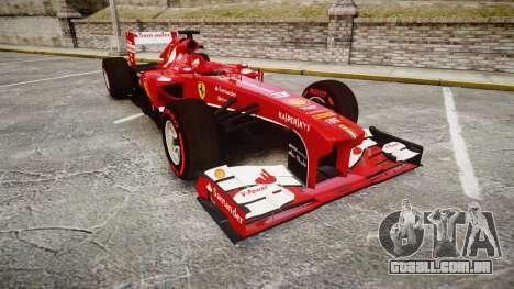 Ferrari F138 v2.0 [RIV] Alonso TSSD para GTA 4