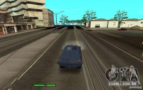 Car Indicator (HP) para GTA San Andreas