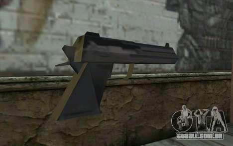 Desert Eagle from Cutscene para GTA San Andreas segunda tela