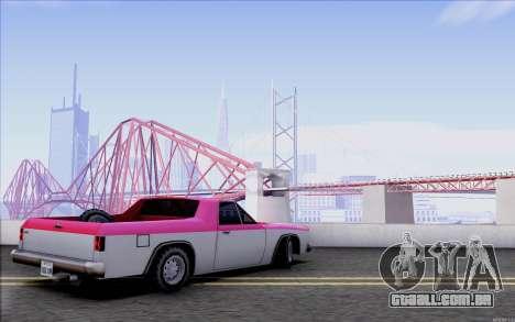 New Picador para GTA San Andreas vista direita