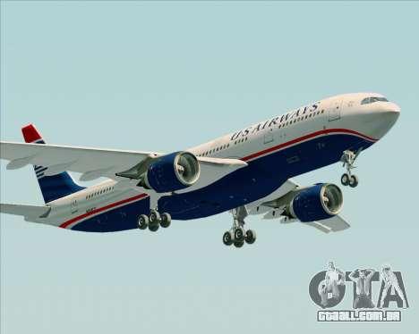 Airbus A330-200 US Airways para GTA San Andreas