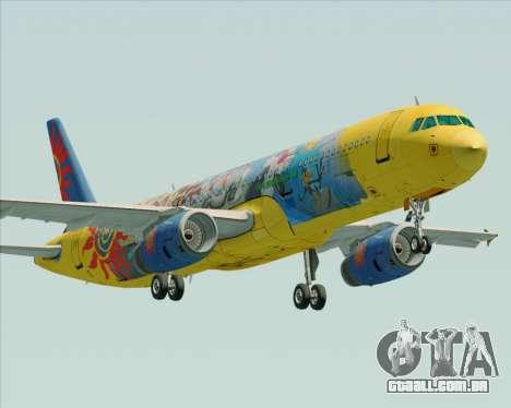 Airbus A321-200 para GTA San Andreas