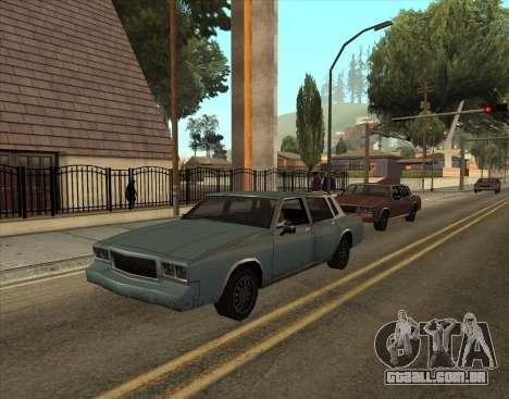 Tahoma Restyle para GTA San Andreas