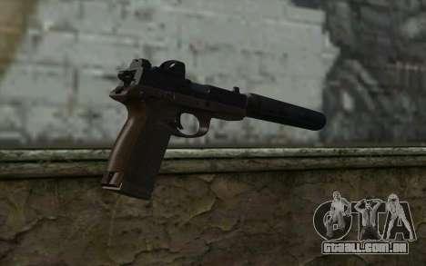 FN FNP-45 Com Silenciador e Mira para GTA San Andreas segunda tela