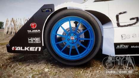 Suzuki Monster Sport SX4 2011 para GTA 4 vista de volta