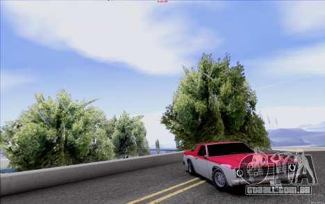New Picador para GTA San Andreas vista traseira