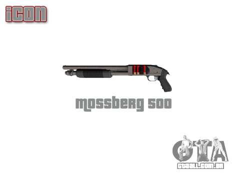 Riot espingarda Mossberg 500 icon3 para GTA 4 terceira tela