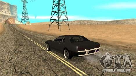 Elegy para GTA San Andreas esquerda vista