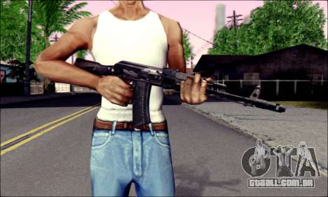 AK-74 m para GTA San Andreas terceira tela
