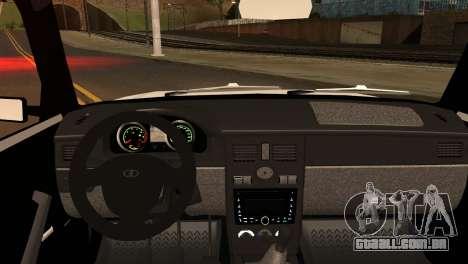 VAZ 2104 & 2106 para GTA San Andreas traseira esquerda vista