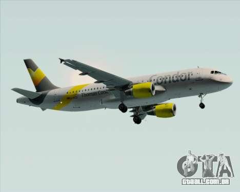 Airbus A320-212 Condor para GTA San Andreas vista direita