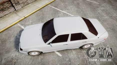Mercedes-Benz E500 1998 Tuned Wheel White para GTA 4 vista direita