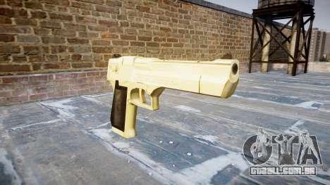 Пистолет Desert Eagle PointBlank Ouro para GTA 4