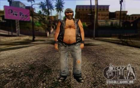 Biker from GTA Vice City Skin 2 para GTA San Andreas