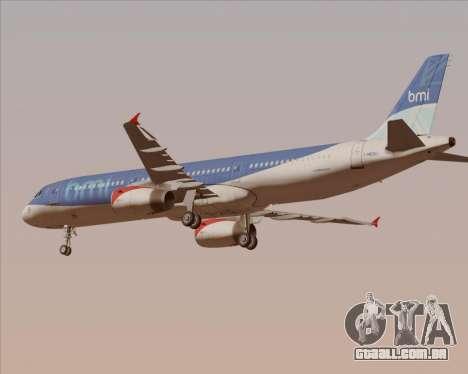 Airbus A321-200 British Midland International para o motor de GTA San Andreas